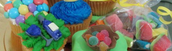 Four Fun: Purim Cupcakes