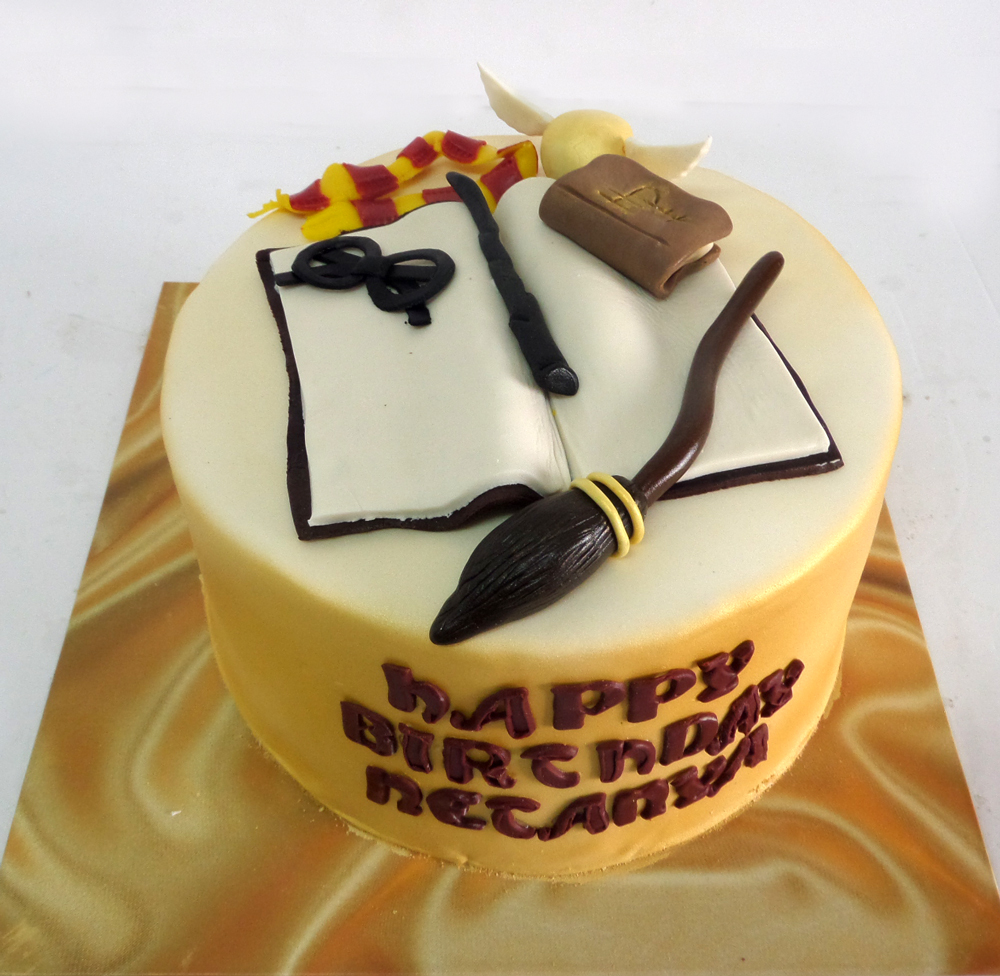 Harry Potter Cake 1