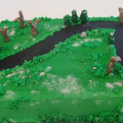 marathon cake