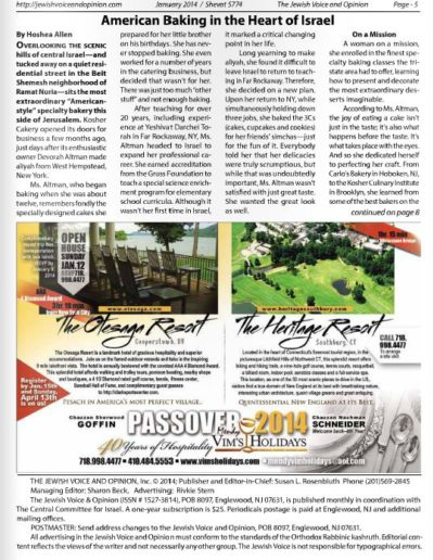 The Jewish Voice - Page 1