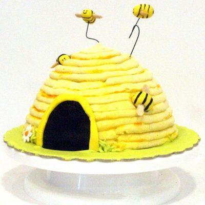 beehive vanilla cake