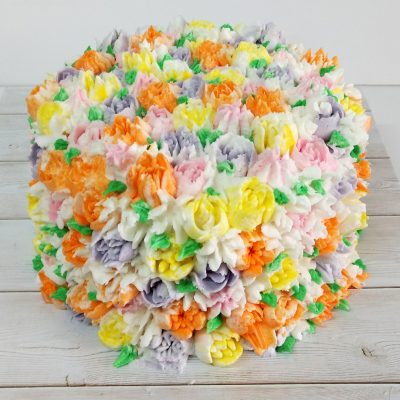 Blooming Flowers Cake