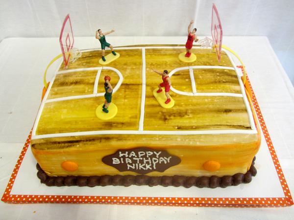 Awe Inspiring Basketball Court Cake Kosher Cakery Kosher Cakes Gift Funny Birthday Cards Online Kookostrdamsfinfo