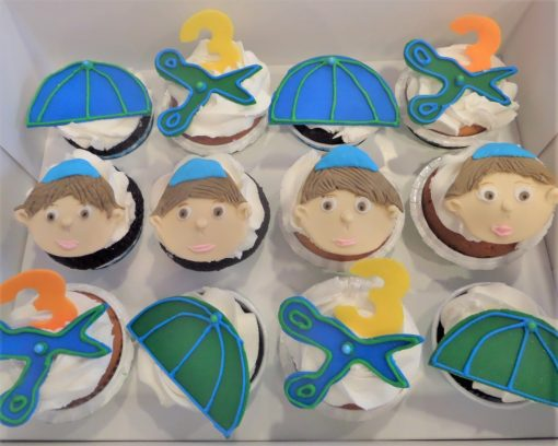 Upsherin Cupcakes