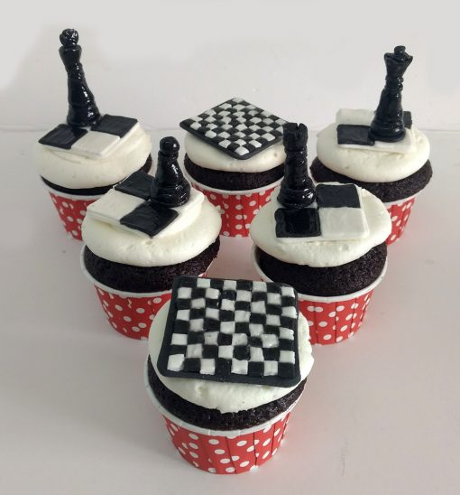 Chess Cupcakes