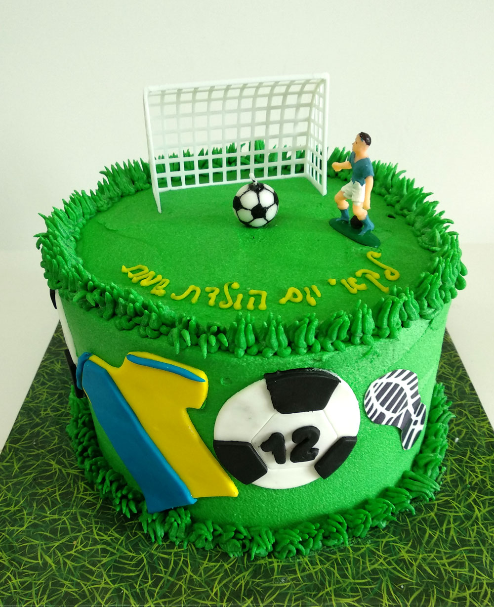 Awesome Soccer Ball Cake Kosher Cakery Kosher Cakes Gift Delivery In Funny Birthday Cards Online Overcheapnameinfo
