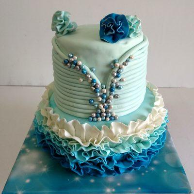 bat mitzva cake