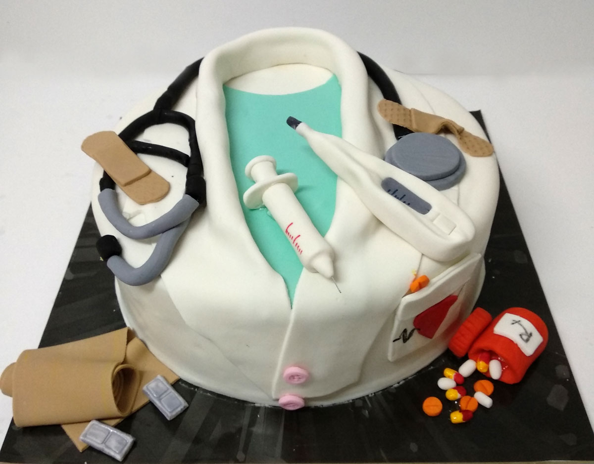 Pleasing Doctor Cake Kosher Cakery Kosher Cakes Gift Delivery In Israel Funny Birthday Cards Online Chimdamsfinfo