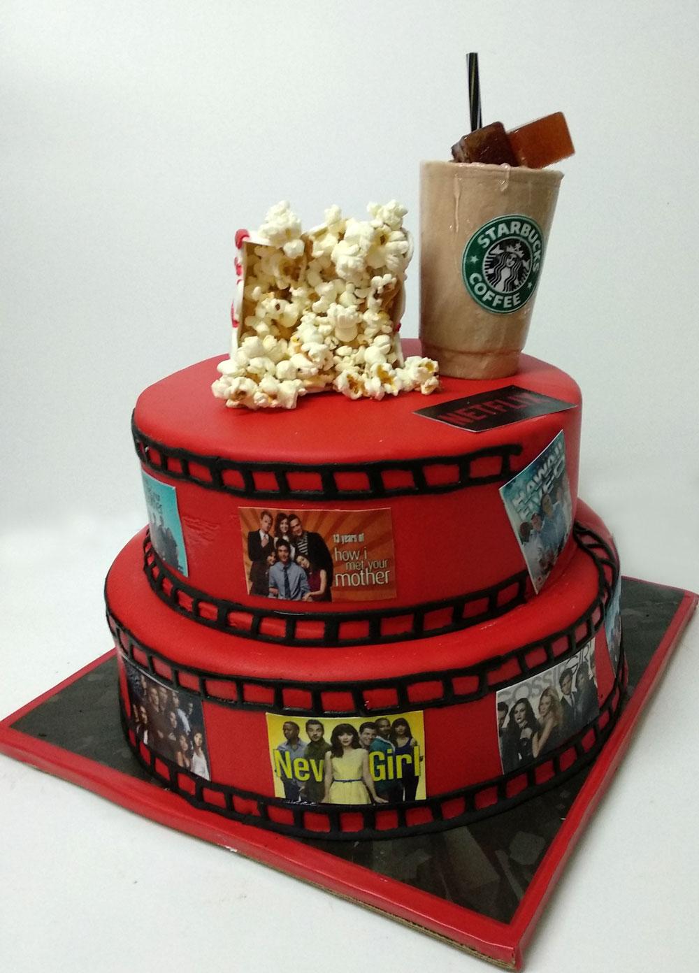 Netflix Cake Kosher Cakery