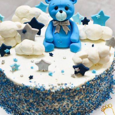 bear cloud cake