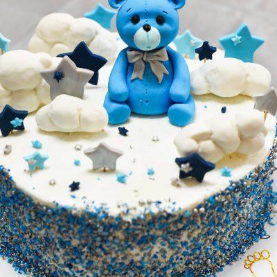bear cloud cake